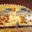 "SET OF TWO NEW IN BOX ""SMURFETTE & HACKUS"" KEYCHAINS & FREE GAME..."