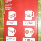 COCA-COLA  STONEWARE MUGS WITH METAL HANGING TREE......NEW IN BOX