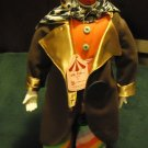 """BIG TOP COLLECTABLE PORCELAIN CLOWN..TAGS ATTACHED...APPROX 19"""" TALL..SO UNIQUE"""