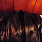 """MISTER LEATHER"" MEN'S BLACK LEATHER JACKET....SIZE M....NICE"