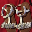Smart Fit Sandals White  Size 1 Girl