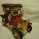 "CERAMIC  OLD TIME CAR WITH CARRIAGELIGHTS....DETAILED...6 3/4"" LONG..5 1/2"" HIGH"