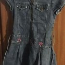 EUC Speechless Embroidered Denim Dress, size 10
