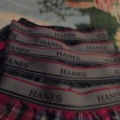 SIX PAIR OF HANES COMFORT FLEX BOYS SIZE M UNDERWEAR...MIXED COLORS...