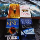 4 JOHN GRISSOM & 2 STEPHEN KING BOOKS.....PAPERBACKS