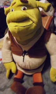 "JUMBO PLUSH SHREK STUFFED BY NANCO....APPROX 24""  NICE.....................CL"