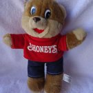 "VINTAGE SHONEY'S BEAR....GREAT CONDITION...APPROX 11""....SO CUTE...1989"