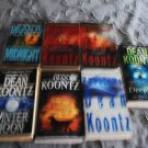 GREAT READING WITH DEAN KOONTZ NOVELS----LOT OF 6----PAPERBACKS