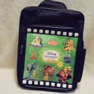 SMALL BLACK DISNEY MOVIEBOOK LIBRARY BACKPACK FOR TODDLERS...BOYS/GIRLS