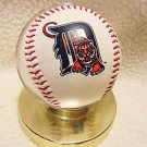 DETROIT TIGERS MLB THREE SIGNATURE BASEBALL....CAN'T READ???...WITH STAND..