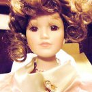 "BEAUTIFUL ""BELLE"" BY DOLLS SOMETHING SPECIAL..APPROX 18/19"" WITH STAND & BOX"