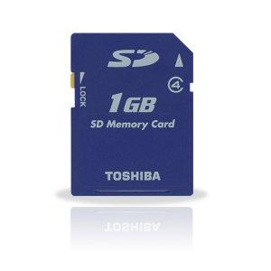 Toshiba 1GB Class 4 High-Speed Type Secure Digital Card (#SD04)