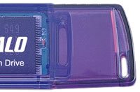 Buffalo 1GB Flash Drive Type E Series in Purple Colour (*Free Registered Airmail Shipment)