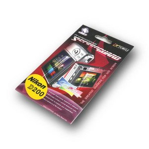Capdase Screen Guard Protector for Nikon D200 (*Free Registered Airmail Shipment today)