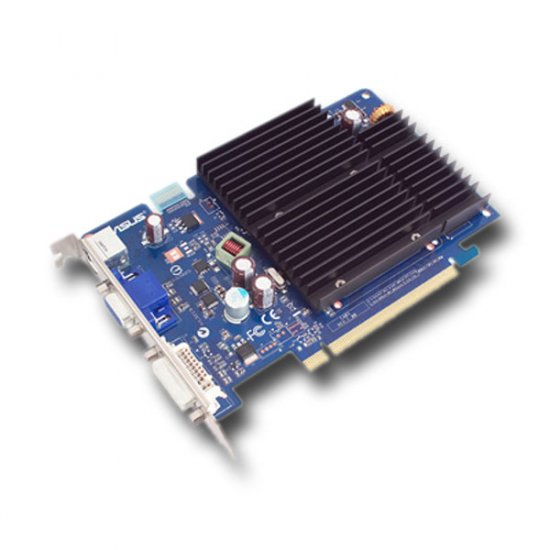 ASUS NVIDIA GeForce 8500GT 512M PCIe VIDEO CARD (#DS01)