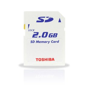 Toshiba 2GB SD Card 6MB/S Ultra High Speed (#SD02)