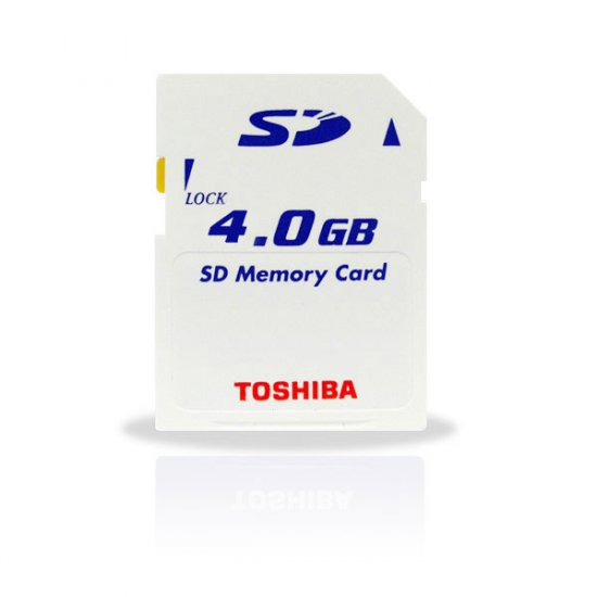 Toshiba 4GB SD Card 6MB/S Ultra High Speed (#SD03)