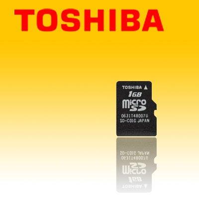 TOSHIBA 1GB microSD TransFlash Card (#SD11)
