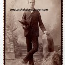 "William Edwin ""Will"" Parrish Cabinet Card, San Bernardino, CA"