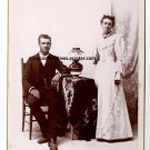 "William Edwin ""Will"" and Lovina Parrish Cabinet Card, San Bernardino, CA"