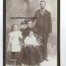 "William Edwin ""Will"" Parrish Family Cabinet Card, San Bernardino, CA"