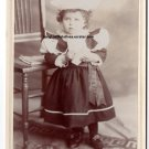 Gladys Maude Livingston Cabinet Card, Redlands,CA