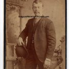 "Joseph Aloysius ""Joe"" Sanker Cabinet Card, Washington D.C."
