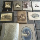 """Mary E. Swarts and Homer Lewis """"Lew"""" Stockard Cabinet Cards"""
