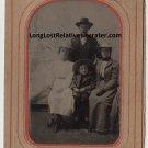 Jefferson Bubb and Elizabeth Alice Swatton Tin Type