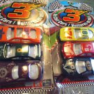 NEW DIE CAST METAL & PLASTIC...2 PACKS(8 CARS) LITTLE CARS...#3 BRAND