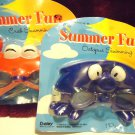 "TWO SUMMER CHILDREN FUN GOGGLES...""OCTOPUS & CRAB""...NEW IN PACK"