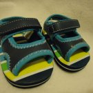 BLUE/GREEN/YELLOW GARANIMALS CUTE SANDALS...SZ 2 INFANTS...BOYS OR GIRLS