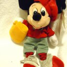 "DISNEY WORLD DIRECTOR MICKEY MOUSE 8"" PLUSH BEAN BAG....SO CUTE"