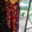 JOE BOXER BLACK WITH RED/HEARTS NIGHTGOWN  SLEEP SHIRT..MEDIUM..LOVER GIRL