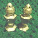 "PEWTER  SALT & PEPPER SHAKERS...C & S CO #317...APPROX .2 1/2"" TALL"