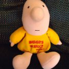 "EC TOM WILSON VINTAGE ZIGGY STUFFED BEANBAG Character 1981"" NOBODY'S PERFECT"""