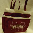 MS STATE BULLDOGS INSULATED TOTE BAG/LUNCHBOX ....VERY HANDY & SUPPORT YOUR TEAM