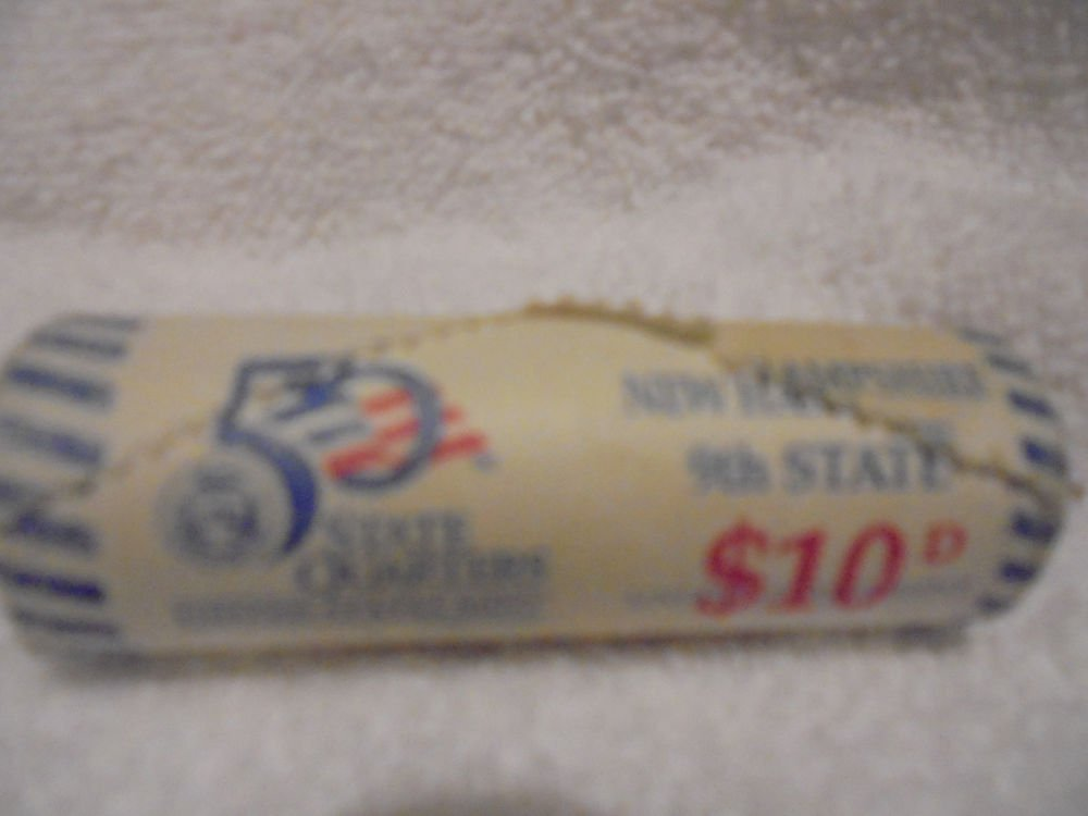 ROLL OF NEW HAMPHIRE D QUARTERS - US MINT ROLL.....NEVER OPENED
