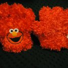 "ELMO'S GLOVES ""TICKLE ME"" SESAME STREET HANDS VIBRATING PLUSH TALKING  GLOVES"