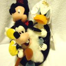 DISNEY MILLENIUM SET..MICKEY, DONALD & GOOFY IN MAGICIAN HAT....2000