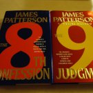 """8TH CONFESSIONS"" & ""9TH JUDGMENT"" BY PATTERSON/PAETRO..HARDCOVER..GREAT BOOKS"