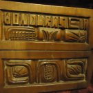 HAND CARVED WOODEN TRAY WITH TILE HOT PLATE...FROM HONDURAS..NICE