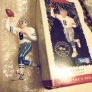 TROY AIKMAN-DALLAS--1996 HALLMARK KEEPSAKE ORNAMENT  FOOTBALL...NO CARD