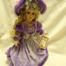 TIMELESS TREASURES VANESSA COLLECTION PORCELAIN DOLL..LIMITED EDITION-APPROX 17""