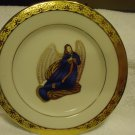 MUIRFIELD DECORATIVE ANGEL PLATE # 9408 CELEBRITY MADE IN SRI LANKA..BLUE