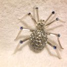 BEAUTIFUL & UNIQUE DECORATIVE JEWELED SPIDER PIN......MUST HAVE A LOOK