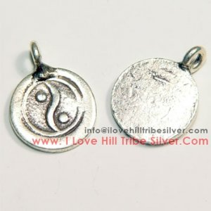 5 Yin-Yang Signess Charms By I Love Hill Tribe Silver