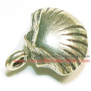 5 Sea Shell Charms By I Love Hill Tribe Silver
