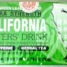 EVERGREEN LEAVES BRAND California Extra Strength Dieters' Tea 40 Bag