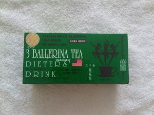 3 Ballerina Tea Dieters� Drink (Extra Strength) - 36 Boxes (684 Tea Bags)